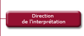 Direction de l'Interprétation