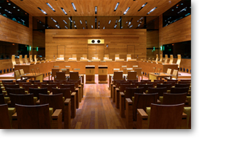 Access to the other courtrooms