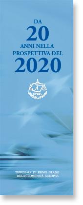 Da 2O anni nella prospettiva del 2020