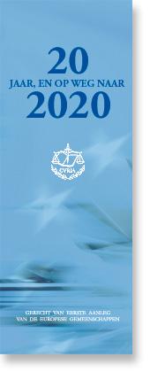 20 jaar, en op weg naar 2020