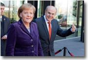 S. Exc. Mme Angela Merkel et Vassilios Skouris