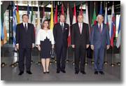 Prestation de serment de la Commission Barroso