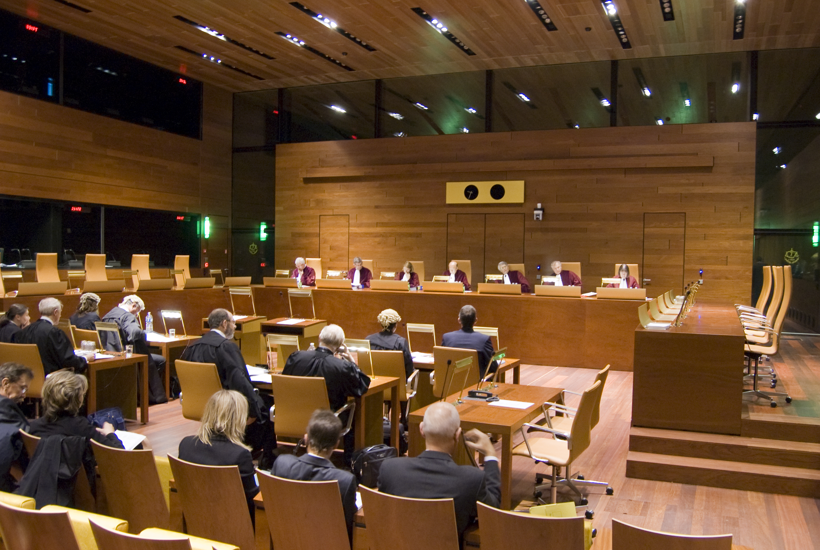 Sitzung des EU-Gerichts