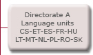 Directorate A  Language units  CS-ET-ES-FR-HU-LT-MT-NL-PL-RO-SL