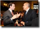 S.A.R. le Grand-Duc héritier et M. Vassilios Skouris