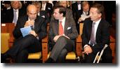 M. Vassilios Skouris, S.A.R. le Grand-Duc héritier et M. Marc Jaeger