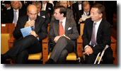Mr Vassilios Skouris, HRH The Hereditary Grand Duke and Mr Marc Jaeger