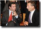 M. Marc Jaeger et S.A.R. le Grand-Duc héritier